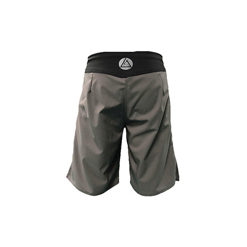 Gracie Undercover Grey Fight Shorts - The Fight Factory
