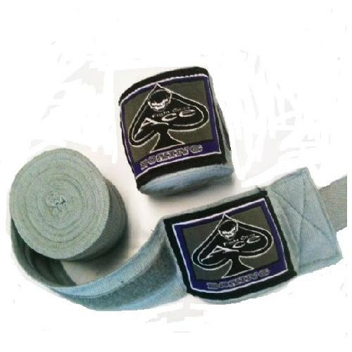 Ace Pro Boxing Hand Wraps Grey - The Fight Factory