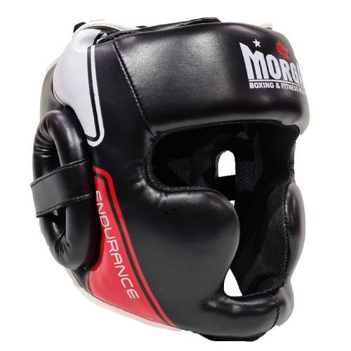 Morgan V2 Professional Leather Head Guard - The Fight Factory
