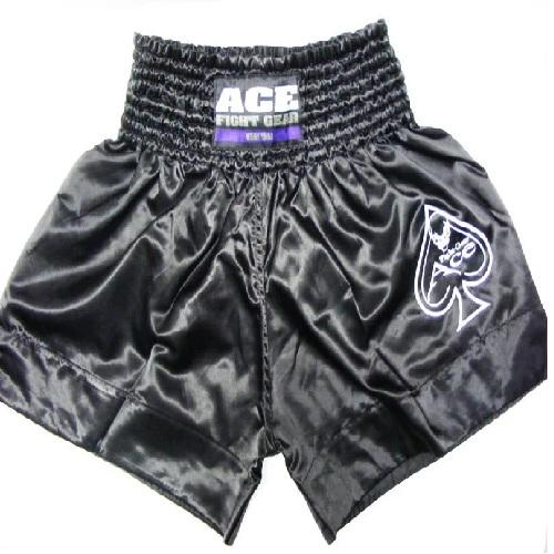 Ace Logo Muay Thai Shorts