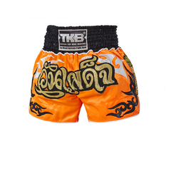 Top King Muay Thai Shorts Orange Wan Padej - The Fight Factory