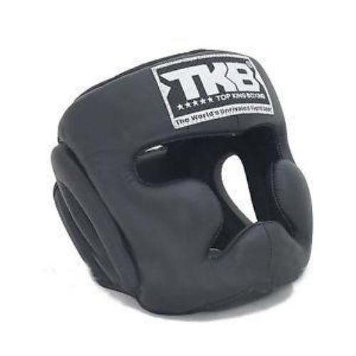 Top King Head Guard Black - The Fight Factory