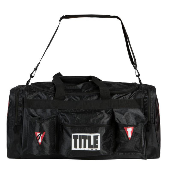 Title Deluxe Gear Bag 2.0 Black - The Fight Factory