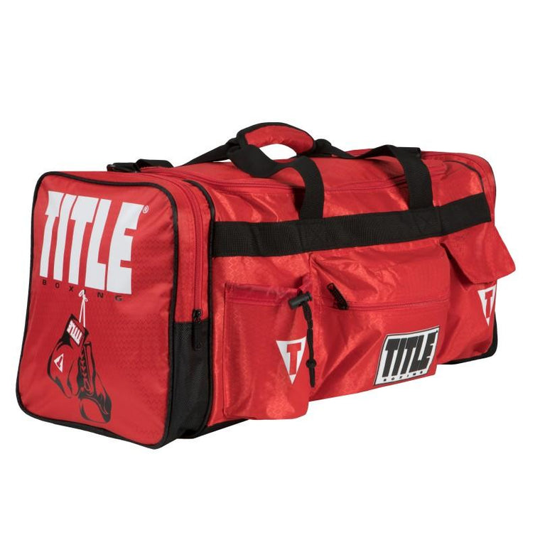 Title Deluxe Gear Bag 2.0 Red