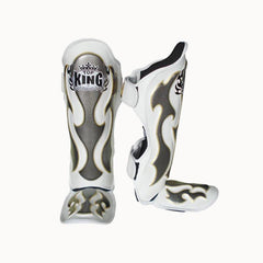 TOP KING Shin Guard Pro Empower White