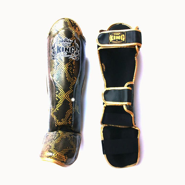 Top King Shin Guard Pro Snake Style - The Fight Factory