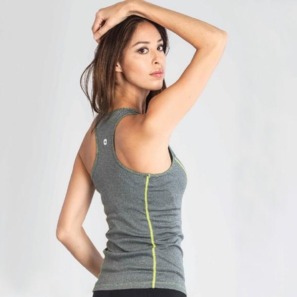 Grips Womens Tank Top Grey - The Fight Factory