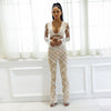 Y LABEL APPAREL: Amour Crop and Pant Feathered Set - Y LABEL APPAREL