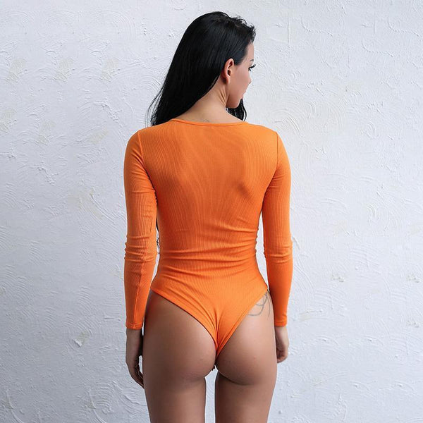 Y LABEL APPAREL: Babe Sleeved Bodysuit - Y LABEL APPAREL