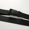 Y LABEL APPAREL: Black Canvas Belt - Y LABEL APPAREL