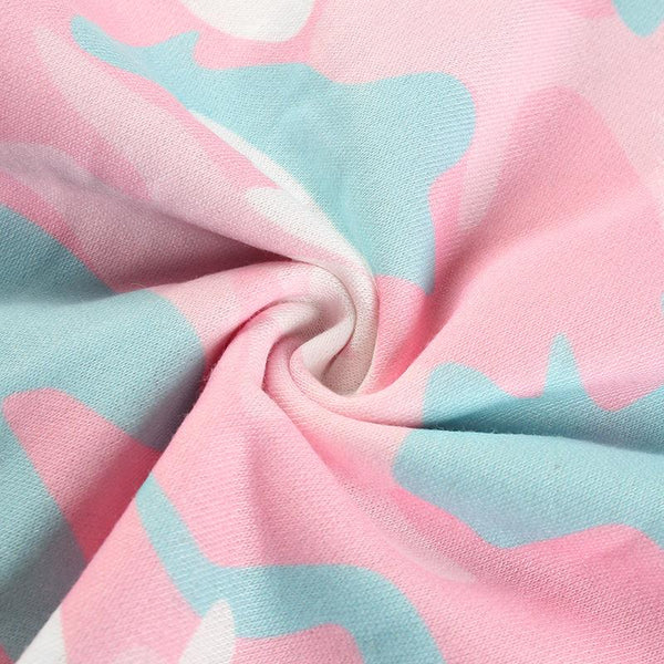 Y LABEL APPAREL: Cotton Candy Dream Camo Pant - Y LABEL APPAREL