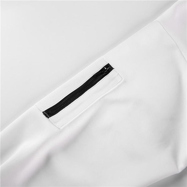 Y LABEL APPAREL: Drifter Zip Pocket Crop - Y LABEL APPAREL