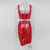 Y LABEL APPAREL: Galaxy Girl Patent Set - Red - Y LABEL APPAREL