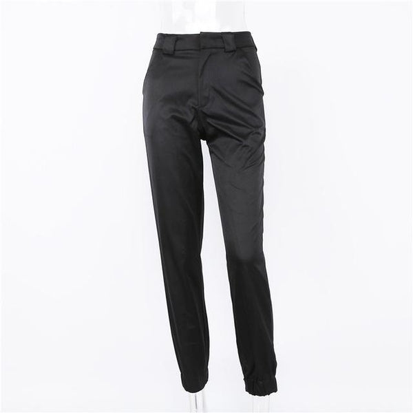 Y LABEL APPAREL: Jet Set Babe Fitted Trouser - Y LABEL APPAREL