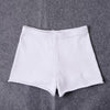 Y LABEL APPAREL: Knit Cotton Short Shorts - Y LABEL APPAREL