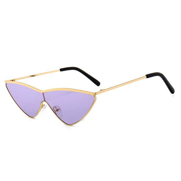Y LABEL APPAREL: No Exaggeration Cat Eye Sunglasses - Y LABEL APPAREL