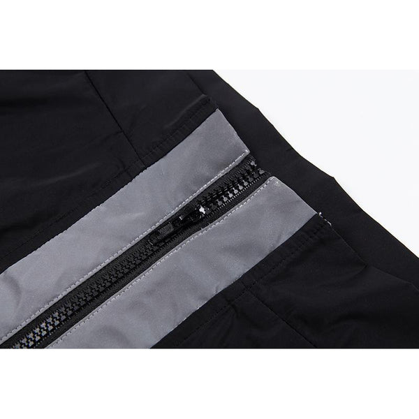 Y LABEL APPAREL: Nyma Zip Reflective Pant - Y LABEL APPAREL