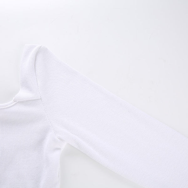 Y LABEL APPAREL: New Classic High Waist Ribbed Bodysuit - Y LABEL APPAREL