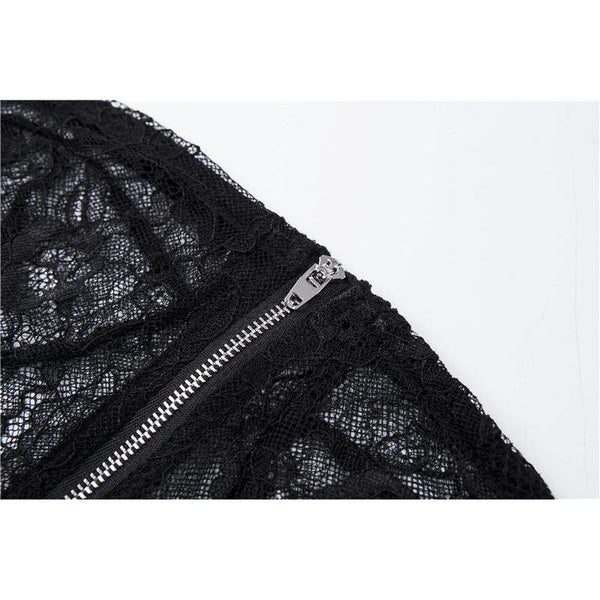 Y LABEL APPAREL: The Realest Strapless Lace Corset Bustier Top - Y LABEL APPAREL