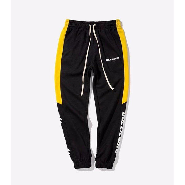 Y LABEL APPAREL: Unisex Colorblock Sweatpants - Y LABEL APPAREL