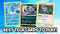 Best Tech Cards - Pokemon Singles | Card Cavern