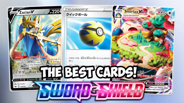 The best cards of Sword & Shield