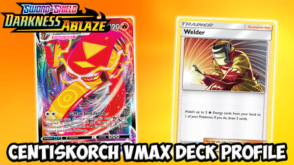 Bringing The Heat With Centiskorch VMAX! | Card Cavern TCGs