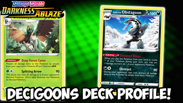 Decidueye/Obstagoon- The Best Budget Deck Right Now! | Pokemon TCG | Card Cavern