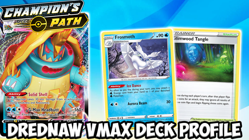 The Powerful & Bulky Drednaw VMAX! Deck Profile