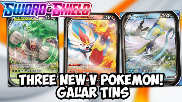 Galar Partners Tins | Pokemon Cards | Pokemon Codes | The Card Cavern