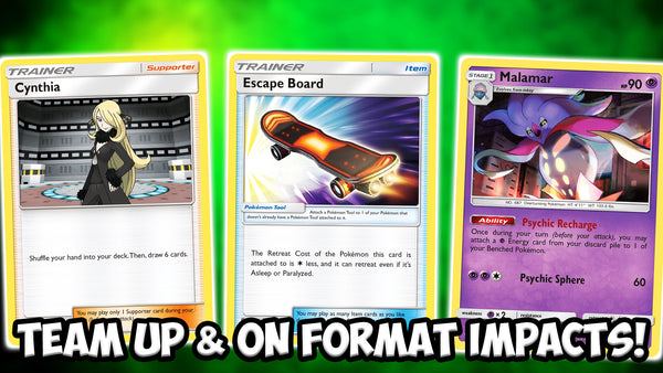 Team Up & On, What Is Gone & What Will Be Impacted! | Card Cavern TCGs