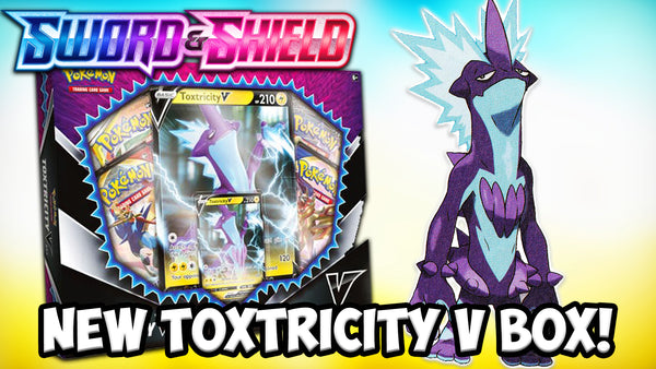 Toxtricity V | Pokemon Cards | Pokemon Codes | The Card Cavern