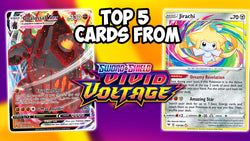 Top 5 Best Cards In Vivid Voltage | Card Cavern TCGs