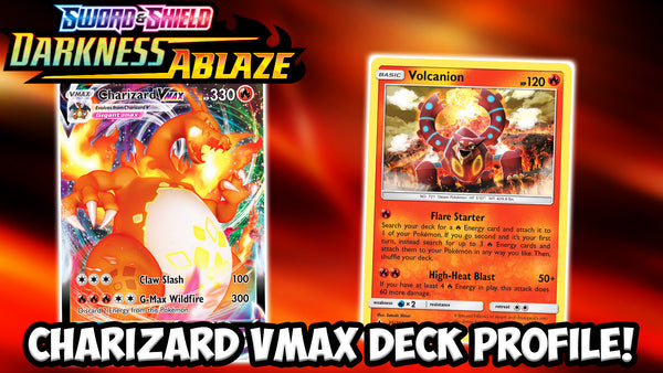Charizard VMAX Deck Profile! | Darkness Ablaze Cards | Card Cavern TCGs