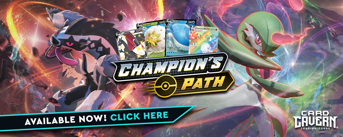Champions Path Pokemon Singles | Card Cavern Trading Cards