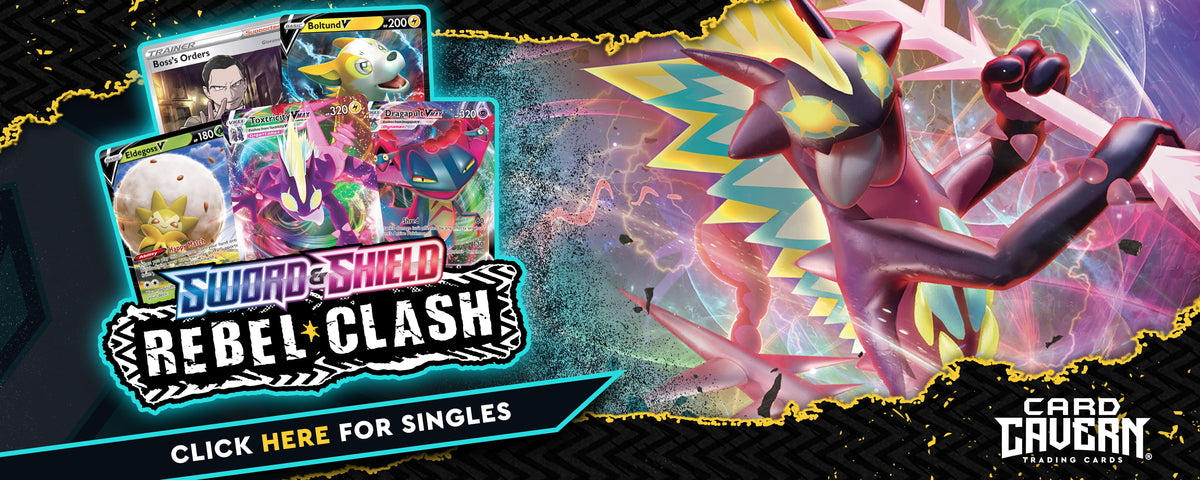 Rebel Clash Pokemon Singles | Card Cavern Trading Cards | Pokemon Cards