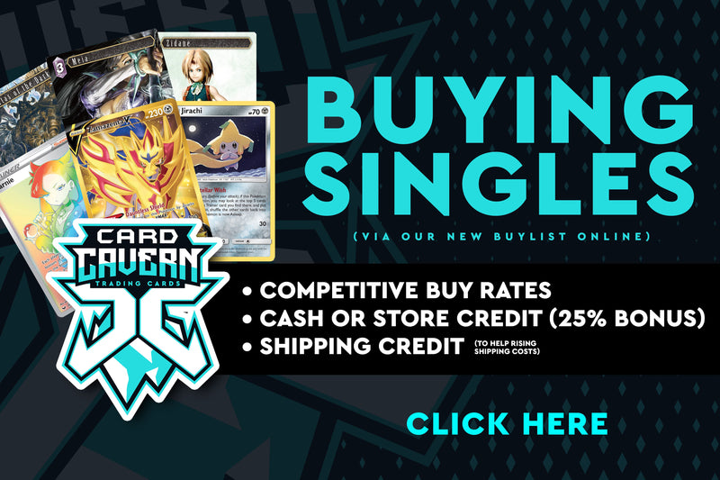 Sell Pokemon Singles | Final Fantasy Singles | Card Cavern | Singles Buylist