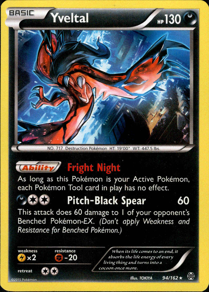 Yveltal - 94/162 - BREAKthrough - Holo - Card Cavern