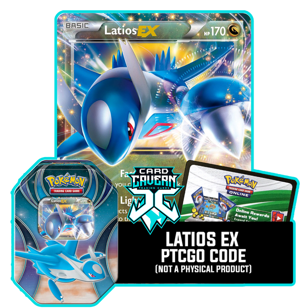 Powers Beyond Tin: Latios EX - Eon Pulse Deck - PTCGO Code - Card Cavern