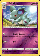 Nidorina - 55/181 - Team Up - Reverse Holo - Card Cavern