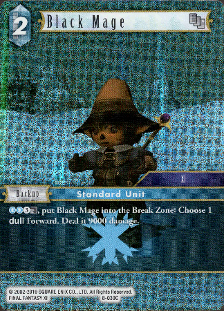 Black Mage - 8-030C - Opus VIII - Foil - Card Cavern