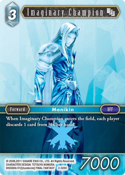 Imaginary Champion - 2-029C - Opus II - Card Cavern
