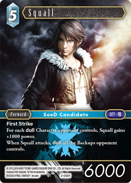 Squall - 2-038H - Opus II - Foil - Card Cavern