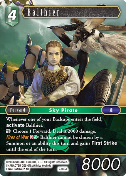 Balthier - 2-065L - Opus II - Card Cavern