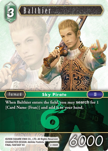Balthier - 2-066R - Opus II - Card Cavern