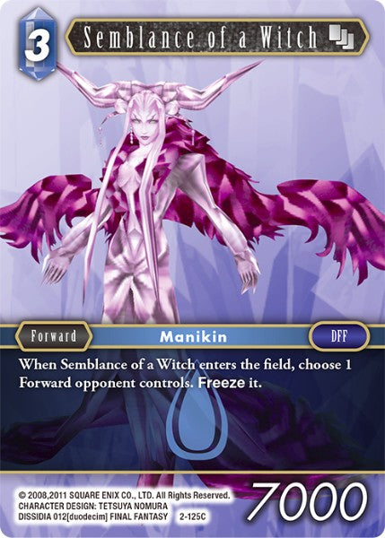 Semblance of a Witch - 2-125C - Opus II - Card Cavern