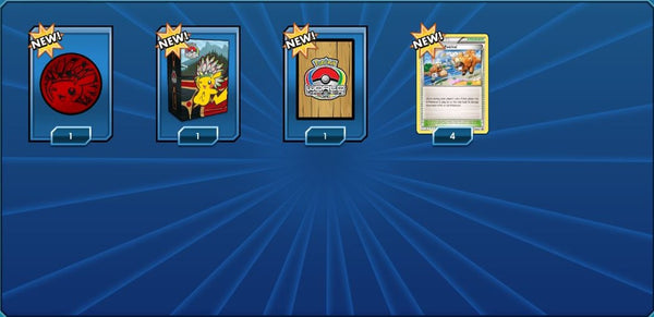 2013 World Championships - Sleeves, Deck Box, and Champions Festival - PTCGO Code - Card Cavern