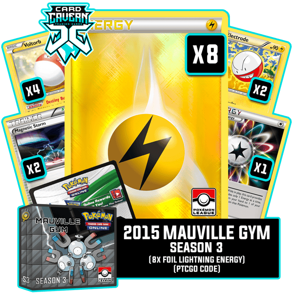 2015 Mauville Gym Season 3 PTCGO Code - Card Cavern