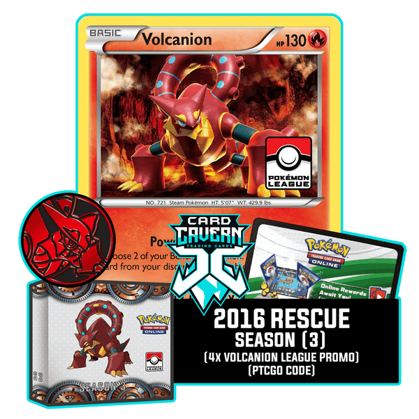 2016 Rescue Gym Season 3 PTCGO Code - Card Cavern