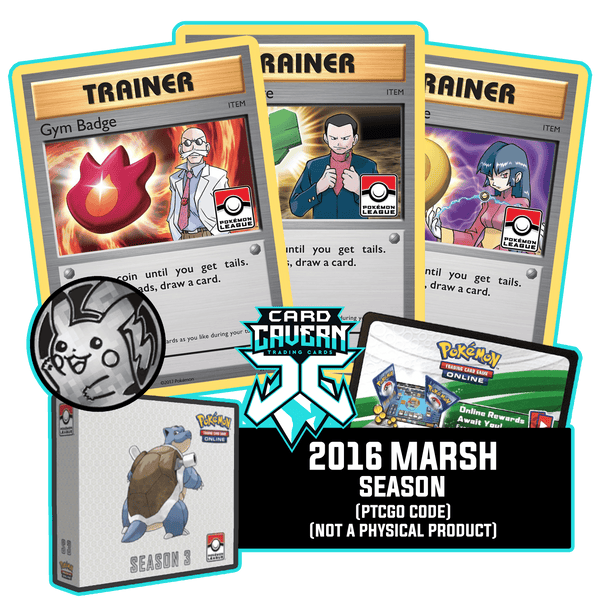2016 Marsh Season 3 PTCGO Code - Card Cavern